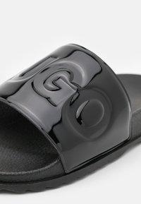 HUGO - MATCH OUT SLIDE - Pantofle - black - 6