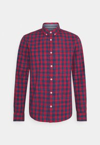 REGULAR CLASSIC CHECK - Shirt - red/navy
