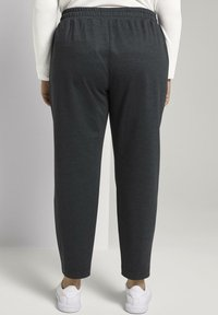 MY TRUE ME TOM TAILOR - Tracksuit bottoms - grey houndtooth check - 2
