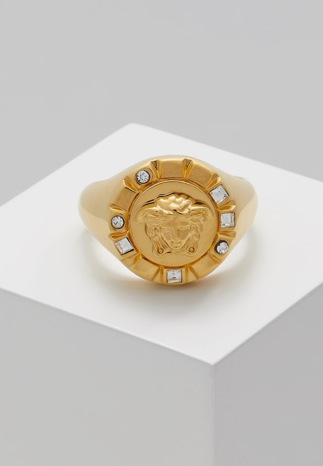 Ring - crystal oro caldo