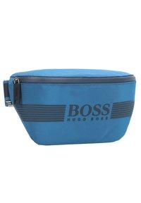 BOSS - PIXEL GÜRTELTASCHE 29 CM - Bum bag - bright blue - 3