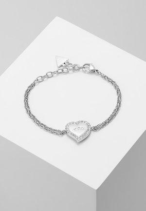 HEART WARMING - Pulsera - silver-coloured