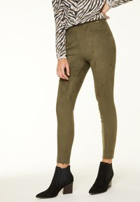 comma casual identity - Leggings - Trousers - khaki - 0