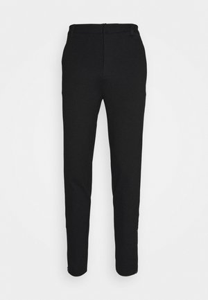 POLITAN ZIP PANTS - Trousers - black