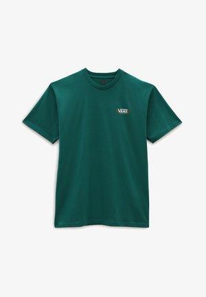 Print T-shirt - alpine green