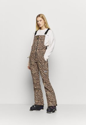 COLLECTIVE - Pantalon de ski - brown