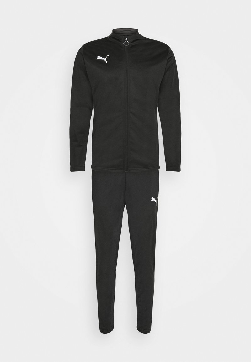 Puma - PLAY TRACKSUIT SET - Survêtement - black/asphalt