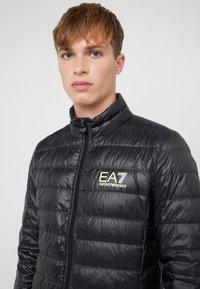 EA7 Emporio Armani - Down jacket - black / neon / yellow - 6