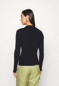 Weekday - FLAVIA - Long sleeved top - black - 2
