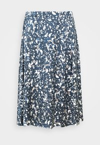 Kaffe Curve - KCBINE SKIRT - A-line skirt - midnight marine - 4