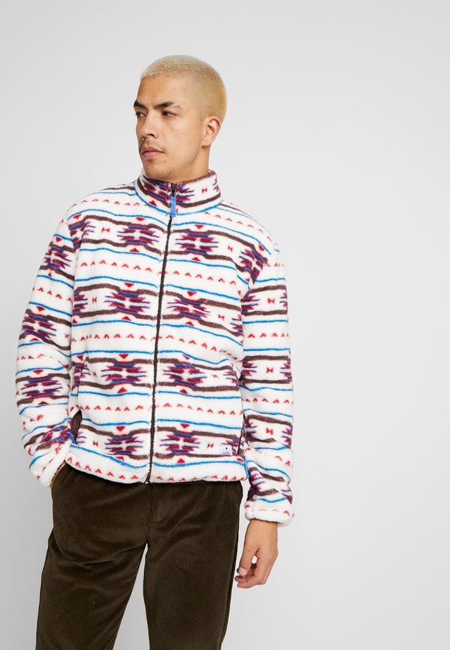 LETH - Fleece jacket - white