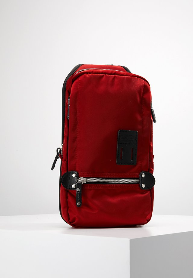 TAKAO NY - Across body bag - red