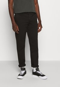 Nudie Jeans - EASY ALVIN - Chino kalhoty - black - 0