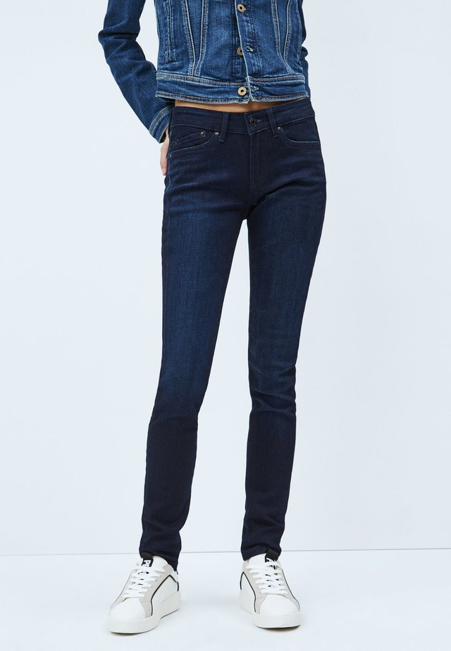 PIXIE - Slim fit jeans - blue denim