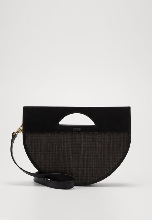 EVEN HALFMOON BAG - Handväska - black