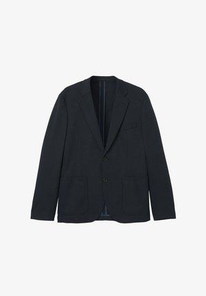 ADAMS  - Blazer jacket - dark blue mel