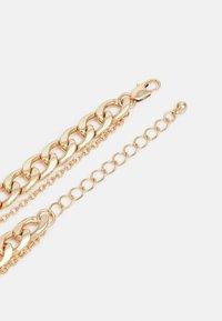 Pieces - PCMENDANT COMBI NECKLACE - Smykke - gold-coloured - 1