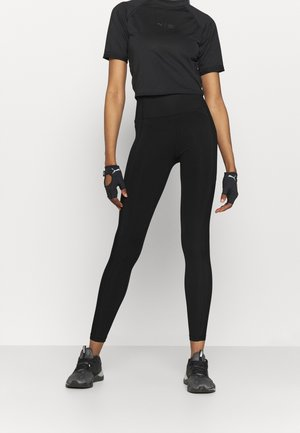 TRAIN BONDED HIGH WAIST FULL - Leggings - black