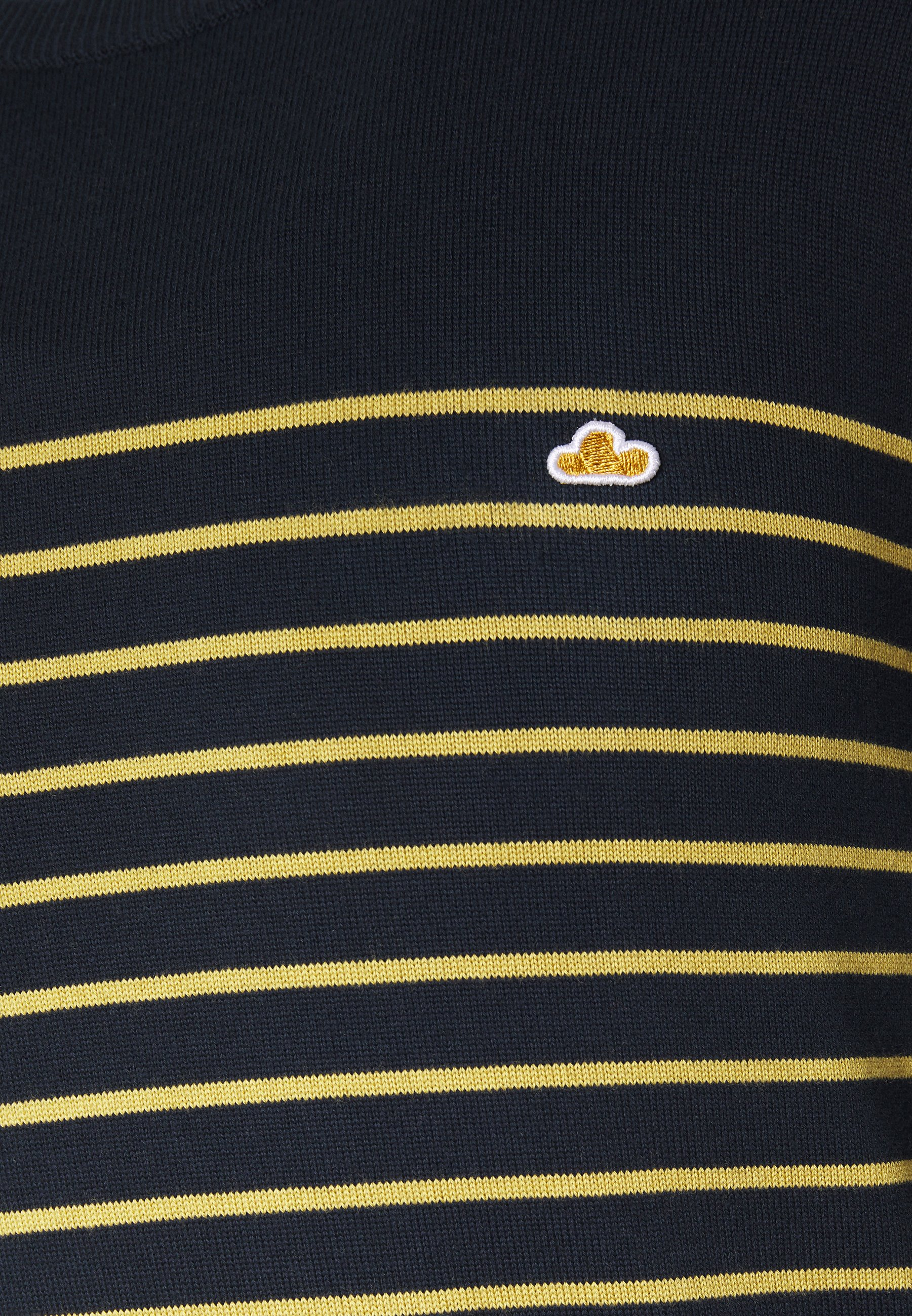 The Good People KENT - Pullover - navy/yellow