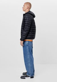 Bershka - MIT KAPUZE - Light jacket - black - 3