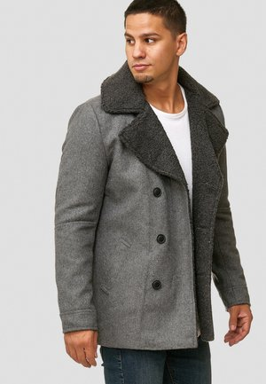 BASIRE - Classic coat - pewter