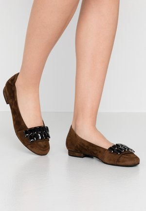 MALU - Ballet pumps - cocoa/black
