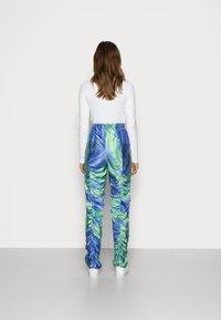 HOSBJERG - Kalhoty - mermaid blue/green - 2