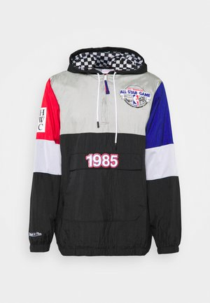 NBA ALL STAR SURPRISE WINDBREAKER - Klubbkläder - black/silver