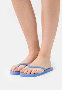 Lauren Ralph Lauren - EVA PAISLEY SHAWNA - T-bar sandals - blue - 0