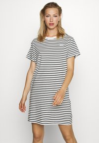 Levi's® - LULA TEE DRESS - Jersey dress - cloud dancer - 0