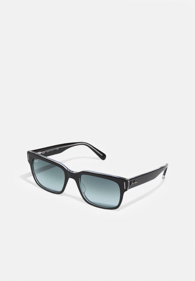 Zonnebril - shiny black/transparent