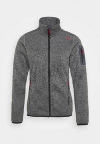 Campagnolo - Fleece jacket - nero/grey - 4