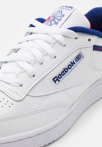 Reebok Classic - CLUB C 85 - Trainers - white/deep cobalt/vector red - 5