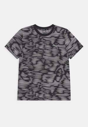 ACTIVE SPORT TEE UNISEX - Print T-shirt - black