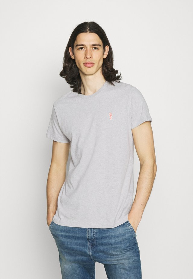 REGULAR - T-shirts - grey melange