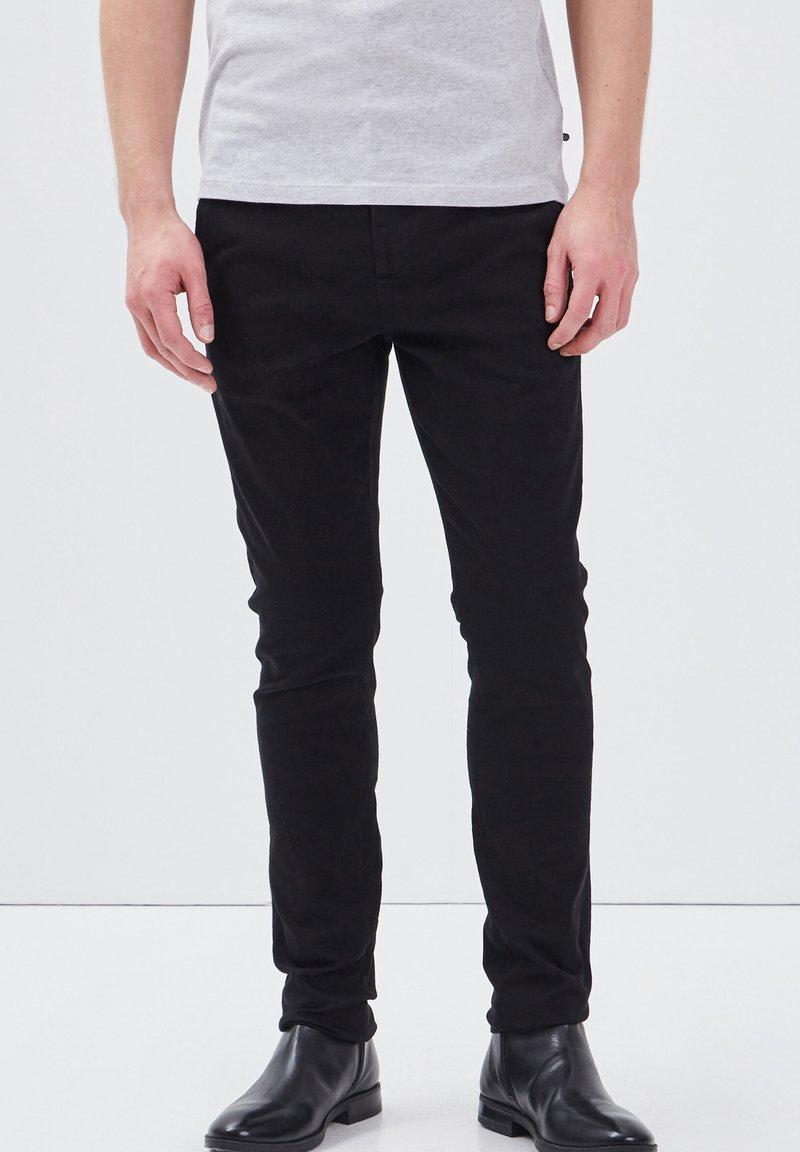 BONOBO Jeans - UMWELTFREUNDLICHE - Chinos - black