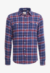 HKT by Hackett - Chemise - navy/red - 4