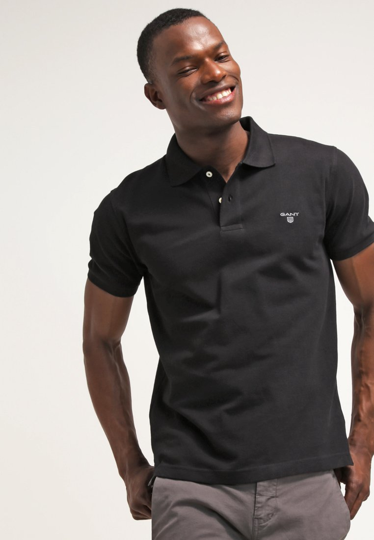 GANT - THE SUMMER - Polo shirt - black