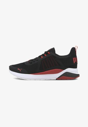 Trainers - puma black-high risk red