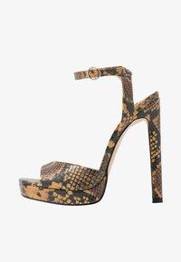 Steve Madden - LUV - High heeled sandals - yellow - 1