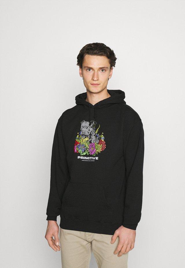 HANDSOME HOOD - Sweater - black