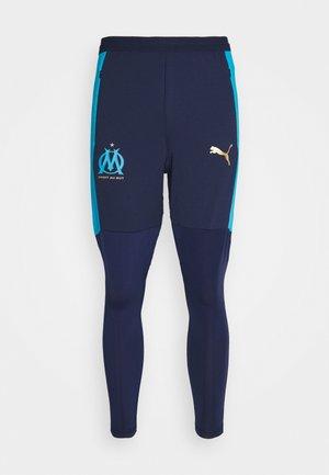 OLYMPIQUE MARSEILLE TRAINING PANT PRO ZIP POCKETS - Klubbkläder - peacoat/bleu azur