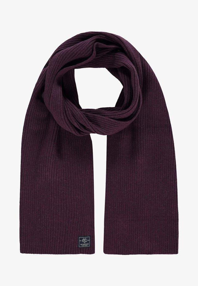 Sjaal - plum