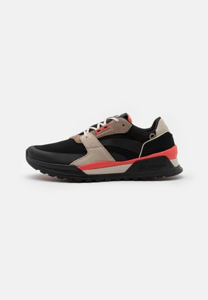 WILDONE ANTHEM - Hiking shoes - black/red coral