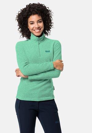 Fleece jumper - pacific green