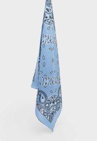Stradivarius - Scarf - mottled blue - 1