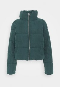ONLY - ONLDINA SHORT QUILTED PUFFER - Winter jacket - green gables - 0
