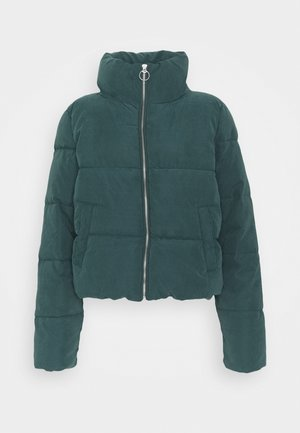 ONLDINA SHORT QUILTED PUFFER - Zimní bunda - green gables