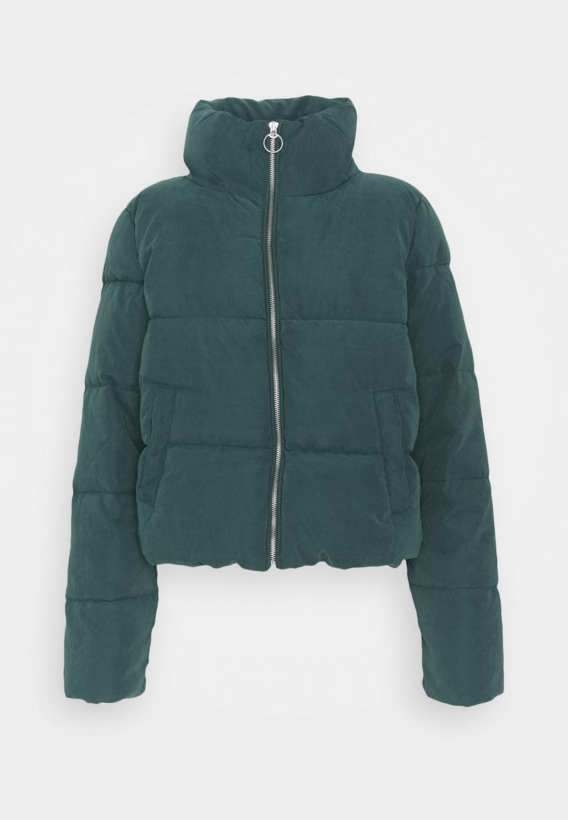 ONLY - ONLDINA SHORT QUILTED PUFFER - Winter jacket - green gables