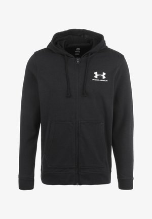 TERRY  - veste en sweat zippée - black